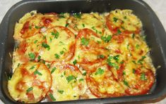 Fish with cheese and tomatoes Ingredients: Fish silver carp kg) - 1 pc. Cheese - 300 g Lemon - 1 pc. Meat Recipes, Cooking Recipes, Cooking Pork Roast, Cooking Spaghetti Squash, How To Cook Barley, Cooking Measurements, Cooking White Rice, Fish And Seafood, Food To Make