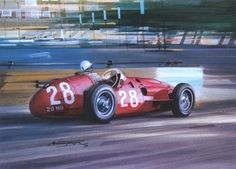 Stirling Moss Maserati 250f GP Monaco 1956