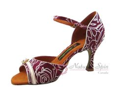 Natural Spin Tango Ladies Dance Shoes (Designer): Salsa Shoes/Tango Shoes/Fashio