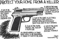 Guns are rarely used for self defense