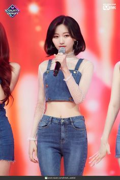 190613 Lovelyz - 'Close to You' at M Countdown. Stage Outfits, Fashion Outfits, Cosmic Girl, Lee Hi, Young T, Poses, Girl Body, Classic Outfits, Girl Crushes