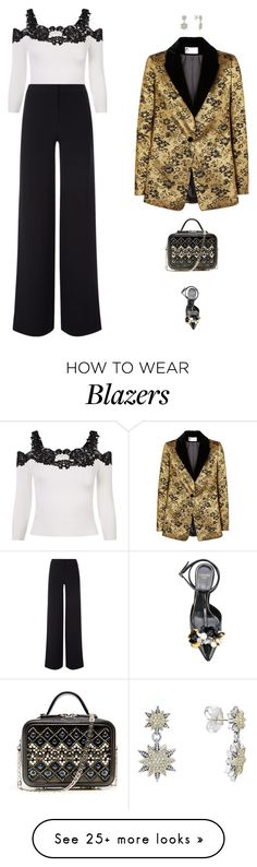 """""""Happy New year"""" by candynena228 on Polyvore featuring La Perla, Lanvin and Lagos"""