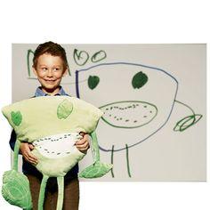 F.A.O Schwartz is offering custom stuffed animals based on kid's drawings..... SWWWOOOOONNNNNN