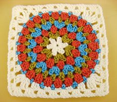 Squaring the Big Circle - free crochet pattern on ravelry