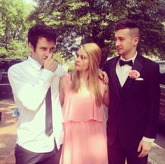 Three siblings | Zack, Madison, and Tyler | Michael and Caroline's wedding