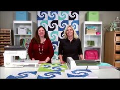 GO! Swirling Snail's Trail Quilt - Quilting Tutorial | AccuQuilt : AccuQuilt