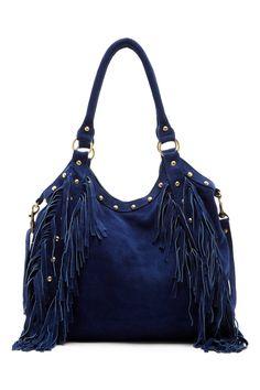 Nikki Stud Fringe Shoulder Bag by RAJ on @nordstrom_rack
