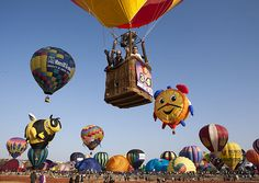 """One of the most prestigious and beautiful hot-air balloon events in #Itay where you can experience the excitement of boarding the """"inflatable balloons"""" in complete safety"""