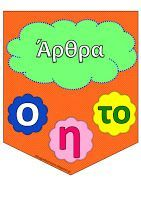 Teachers Aid: Τα μέρη του λόγου Learn Greek, Greek Alphabet, Greek Language, School Worksheets, Teaching Methods, Greek Words, Word Pictures, Learning Disabilities, School Hacks