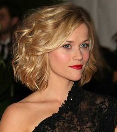 Reese Witherspoon Short Wavy Curly Hair
