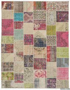 Overdyed Patchwork Rugs | Kilim Rugs, Overdyed Vintage Rugs, Hand-made Turkish Rugs, Patchwork Carpets by Kilim.com