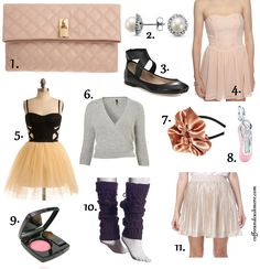 Ballet Chic at www.coffeeandcashmere.com