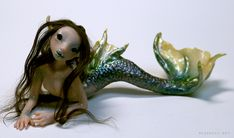Green Mermaid by ladymeow.deviantart.com on @deviantART