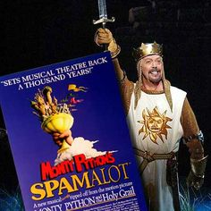 Book-Tickets-to-Spamalot-London-Things to do this weekend in London #thingstodoinlondonatnight