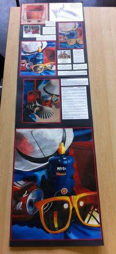 N5 folio full unit (A2,A3,A2) Buckhaven HS A Level Art Sketchbook, Sketchbook Layout, Sketchbook Inspiration, Observational Drawing, Ap Studio Art, Expressive Art, School Art Projects, Still Life Art, Ap Art