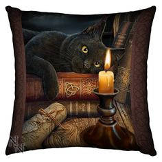 Lisa Parker Witching Hour Art Print Cushion Nemesis Now Lisa Parker Art Print Cushion  Approximate Dimensions 42cm x 42cm