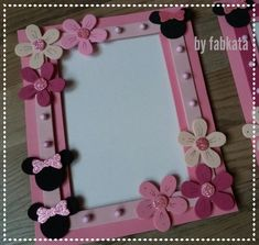 Home Crafts, Arts And Crafts, Diy Crafts, Folder Diy, Old Jewelry Crafts, Foam Sheet Crafts, Canvas Picture Frames, Birdhouse Craft, Foam Sheets