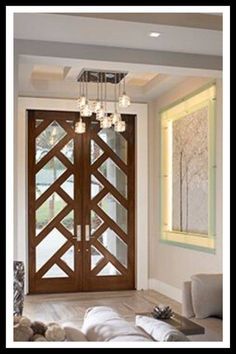 15 French Doors for Inspiration French Interior and Exterior Doors when glass panels. Wooden Main Door Design, Double Door Design, Main Entrance Door Design, Modern Front Door, Double Front Doors, Modern Wood Doors, Solid Doors, Door Design Interior, Interior Barn Doors