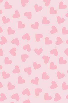 Hearts Wallpaper Pink Cute, Pink Wallpaper Iphone, Cute Patterns Wallpaper, Heart Wallpaper, Aesthetic Iphone Wallpaper, Aesthetic Wallpapers, Cute Backgrounds, Wallpaper Backgrounds, Pretty Wallpapers