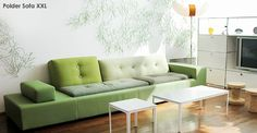 Polder Sofa by Hella Jongerius