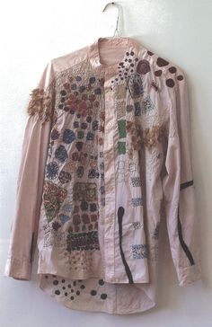 Nui Project (Japan) | embroidered shirt by japanse artists with disabilities