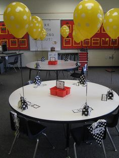 School Day Love: Polka Dots and Bees!  Classroom theme!