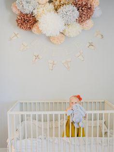 paper flowers & bunting // Kelli Murray