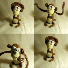 Amigurumi Monkey by turuncupelush, via Flickr