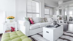 A Look Inside the Charming Home of a Real Living Reader Condo Interior Design, Condo Design, House Design, Sofa, Couch, House Tours, Furniture, Home Decor, Settee