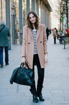 Polienne | a personal style diary: CAMEL, STRIPES & LEO