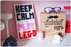 Keep calm, play Lego and diy...