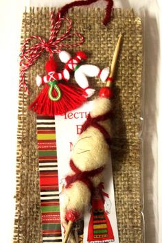 martenica - Google Search Bulgarian, Christmas Stockings, Traditional, Google Search, Holiday Decor, Spring, Home Decor, Figurine, Decoration Home