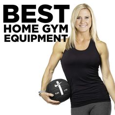 Ready to get fit at home? Here is the best home gym equipment to buy. from essential home gym gear to the best cardio equipment for women! Home Gym Exercises, Gym Workouts, At Home Workouts, Home Gym Garage, At Home Gym, Best Home Gym Equipment, No Equipment Workout, Gym Shed, Workout Plan For Women