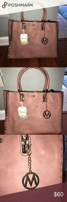 NWT Mia K Farrow Alyssa Collection Beautiful Mia K Farrow Alyssa Collection 2 piece handbag with detachable bag inside! I bought two purses and decided on the other. It is hard to part with this one! Mia K Farrow Collection Bags