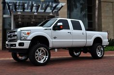 2013 Ford F-250 Platinum. Beautiful truck!