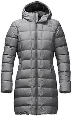 New Trending Outerwear: The North Face womens GOTHAM PARKA (Large, TNF Medium Grey Heather). The North Face womens GOTHAM PARKA (Large, TNF Medium Grey Heather)  Special Offer: $190.00  300 Reviews Coveted 550-fill down insulated jacket stays true to classic mountain styling with high-loft baffles protected by a DWR (durable water repellent) finish to shed light moisture. The...