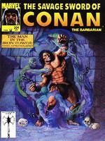 SAVAGE SWORD OF CONAN #201 - Marvel