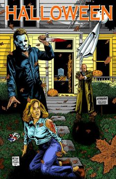 Halloween - Michael Myers, Laurie & Dr. Loomis
