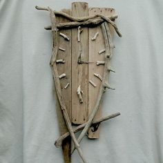 Driftwood Furniture | ... driftwood furniture driftwood clock large quirky clock driftwood.  For Ryan
