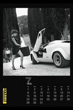 2014 Pirelli Calendar- Helmut Newton
