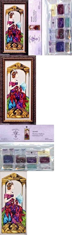 Cross Stitch Patterns 34032: Mirabilia Cross Stitch Chart With Embellishment Pack ~ Venetian Opulence #99 -> BUY IT NOW ONLY: $30.99 on eBay!
