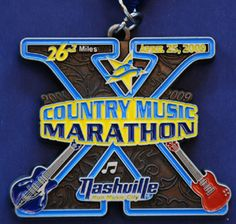 Run the Nashville Country Music half marathon in April. One day.