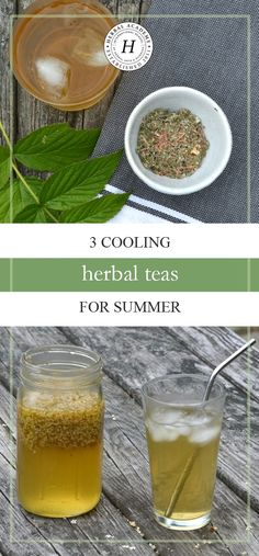 Looking for ways to beat the summer heat? Find relief with these 3 cooling herbal teas for summer that your family and friends will love!