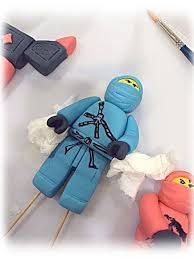 Image result for how to make ninjago mini figures in fondant