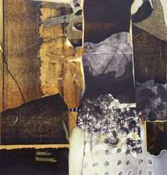 "Chiyomi Taneike Longo, ""Seed of the Mind #6,"" mixed media/collage on panel"