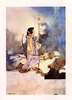 CHARLES ROBINSON Angel in the Snow