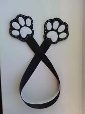 Handmade Felt Bookmark Love Pet Dog Puppy Cat Kitten Paws Black Present Gift in Books, Comics & Magazines, Accessories, Bookmarks Handmade Felt, Felt Diy, Felt Crafts, Diy And Crafts, Crafts For Kids, Arts And Crafts, Felt Bookmark, Bookmark Craft, Diy Bookmarks