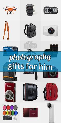 Are you looking for a present for a photograpy lover? Get inspired! Read our ulimative collection of gifts for phtographers. We show you great gift ideas for photographers which will make them happy. Purchasing gifts for photography lovers doenst need to be hard. And do not have to be expensive. #photographygiftsforhim