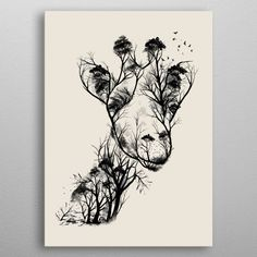 tattoos in japanese prints Giraffe Drawing, Giraffe Art, Deforestation Poster, Deforestation Drawing, Girraffe Tattoo, Japanese Tattoo Designs, Poster Prints, Art Prints, Print Artist