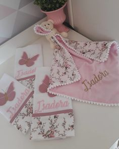 Baby Boutique Clothing, Crochet Decoration, Mother And Baby, Pillow Design, Girl Nursery, Christmas Stockings, Machine Embroidery, Baby Kids, Lily